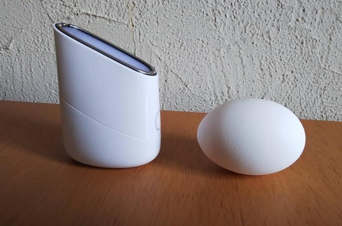 スキンライトセラピー2と玉子に比較画像