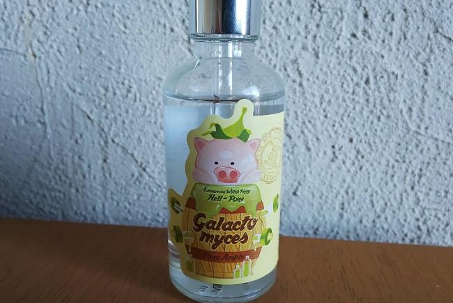 エリザベッカ ガラクトミセス醗酵濾過物100エッセンスのブタのラベル写真