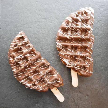 WAFLAのミルクチョコクロッフル