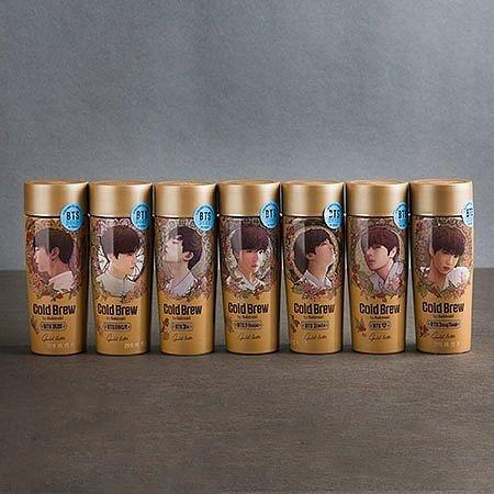BTSコーヒーゴールドラテの写真
