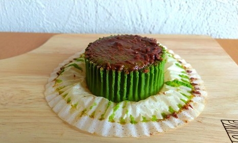ローソン バスチー「バスク風抹茶チーズケーキ」