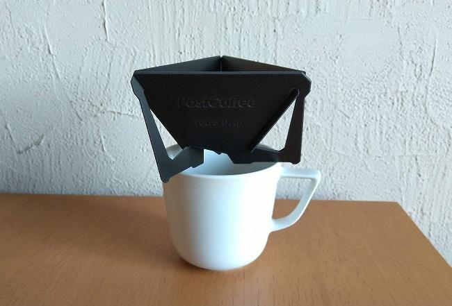 ポストコーヒーの組み立て式ドリッパーを組み立てた画像