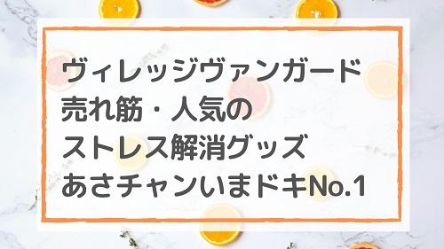 ヴィレッジヴァンガード売れ筋人気のストレス解消グッズ/あさチャンいまドキNo.1