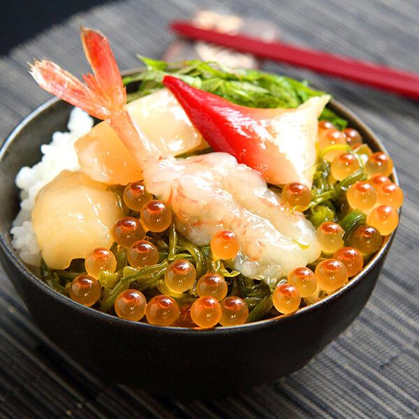 エールマーケット 川秀ぶっかけ海鮮丼の具の商品画像