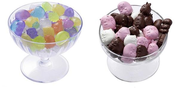 クッキングトイ すみっコぐらし おうちで!グミ&チョコつくるんですで作れるお菓子の画像