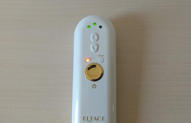 ELFACE(エルフェイス) 美顔器の皮膚弾力モード