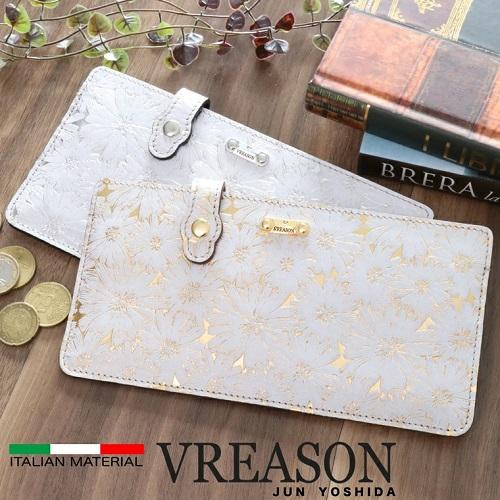VREASON(ヴレアゾン)コンパクトウォレット デイジーデザイン